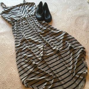 A. Byer Hi Lo Dress